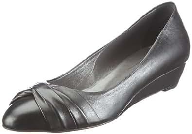 Evita Shoes Pumps geschlossen 09BZ311210, Damen Pumps, Schwarz (schwarz), EU 40