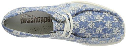Sioux Grashopper-d-141 - Mocassini Donna Blu (Azure-Offwhite)