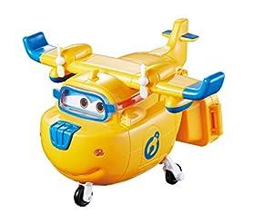 Alpha Animation & Toys Super Wings Donnie vehículo de Juguete - Vehículos de Juguete (Azul, Naranja, 4 año(s), 9 año(s), Niño/niña, Interior, Batería)