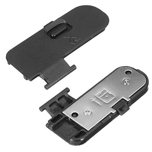 LaDicha Batterieabdeckung Deckel Kappe Reparatur Ersatzteil Kunststoff für Teil D3200 D3300
