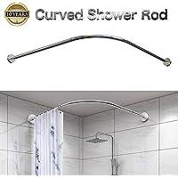 Barras para cortinas de ducha | Amazon.es