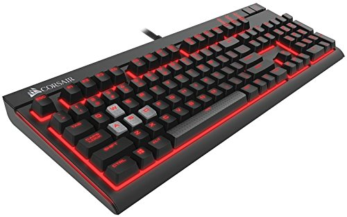 Foto Corsair Strafe Tastiera Meccanica Gaming, Cherry MX Brown, Retroilluminato...