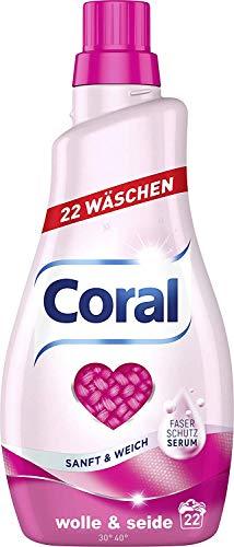 Coral Feinwaschmittel Wolle & Seide flüssig 22 WL, 1126 g