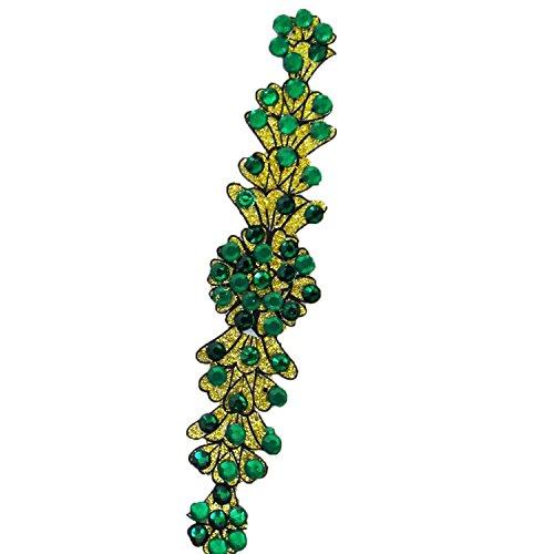 Multicolor Glitter Art De Perles Acrylique Floral Épaule Bras Cadeau De Tatouage Temporaire Pour Elle