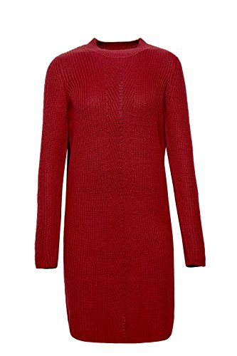 ESPRIT Damen Kleid Rot (Garnet Red 620)