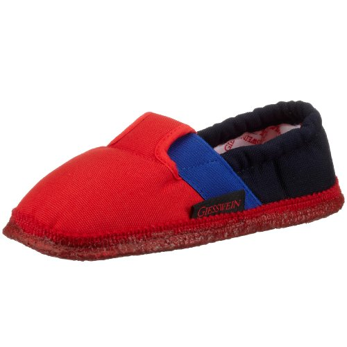 Giesswein Aichach, Chaussons mixte enfant Rouge (312 Feuer)