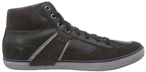 Geox U BOX B Herren Hohe Sneakers Schwarz (C6524MUD/BLACK)
