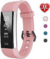 Fitpolo Fitness Tracker, étanche Tracker d'activité Moniteur de Sommeil, Moniteur de fréquence Cardiaque, Compteur,...