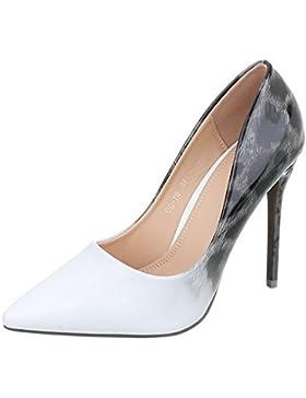 High Heel Pumps Damenschuhe High Heel Pumps Pfennig-/Stilettoabsatz High Heels Ital-Design Pumps