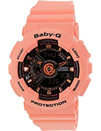 Casio Baby-G – Damen-Armbanduhr mit Analog/Digital-Display und Resin-Armband – BA-111-4A2ER