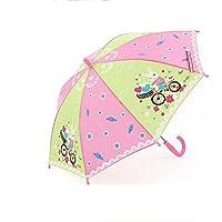 BBSLT I bambini maschii e femminili dei cartoni sole pulire manualmente un ombrello, ombrelloni ombrellone UV protezione pioggia o a duplice uso, amore del bambino , D
