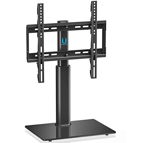 FITUEYES Swivel Tabletop TV Stand with Mount for 32-50 inch LCD LED HD Screen, Rotate +/-35 Degrees TT104501GB at amazon
