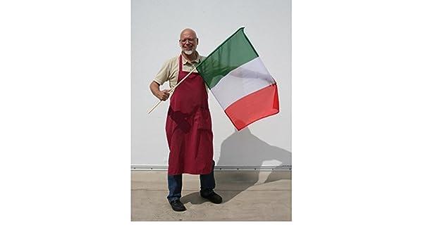 Everflag schwenkfahne mit holzstab italien amazon