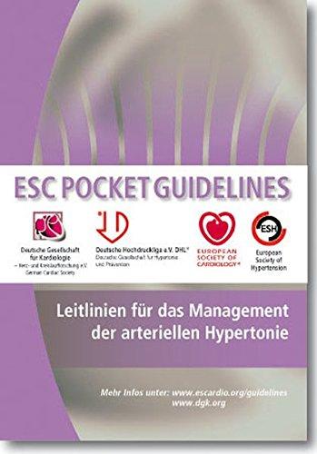 Leitlinien für das Management der arteriellen Hypertonie (Pocket-Leitlinien)