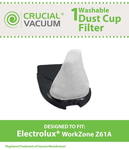 1 Electrolux Workzone Z61a Hand-held Car Vacuum Cleaner Filter, Compare To Part # 4071411955, Designed & Engineered By Crucial Vacuum Picture