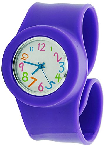 slap-watch-violet-fun-easy-to-read-watch-for-kids-gift-watches