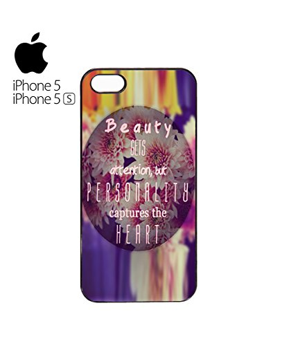 Beauty Gets Attention But Personality Captures The Heart Mobile Phone Case Cover iPhone 6 Plus + White Blanc