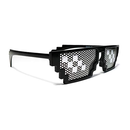 Gafas Deal with it! Gafa Youtuber/Meme/Gamer/Tugh Life/Pixel Producto exclusivo Geekinvader! Geek with it! ...
