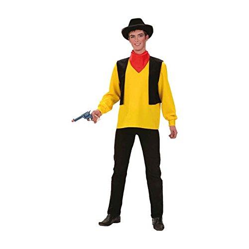 Unbekannt Aptafêtes–cu060231/50–52–Kostüm Cowboy 'Lucky' für Herren Größe 50/52. -