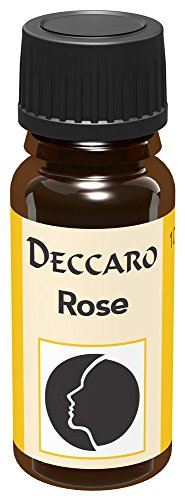 deccaro Aromaöl Rose, 10 ml (Parfümöl) (Rosen-aroma)