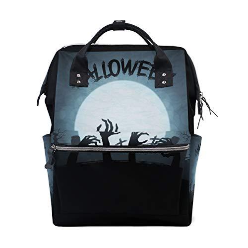 Zombie Hand Große Kapazität Windel Taschen Mummy Rucksack Multi Funktionen Windel Krankenpflege Tasche Tote Handtasche Für Kinder Babypflege Reise Täglichen Frauen ()