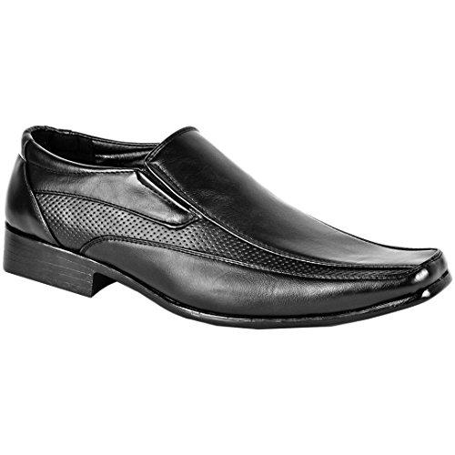 MYSHOESTORE  Italian Shoes, Bottes de moto homme Noir