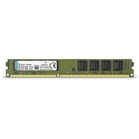 Kingston KVR16N11/8 - Memoria RAM de 8 GB (1600 MHz DDR3 Non-ECC CL11 DIMM, 240-pin, 1.5V)