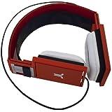 WESC-Casque Audio Wesc Alp Horn Red
