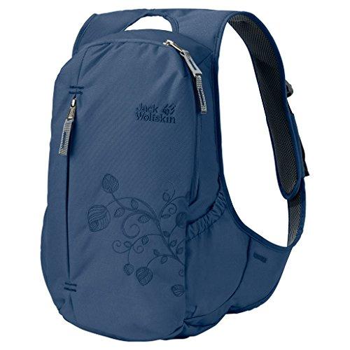 Imagen de jack wolfskin ancona tela, poliéster azul    para portátiles y netbooks tela, poliéster, azul, monótono, mujeres, bolsillo frontal, bolsillo lateral, cremallera