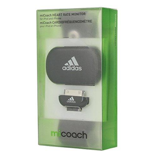 Adidas Laufcomputer miCoach Heart Rate Monitor Unisex black, NS, schwarz