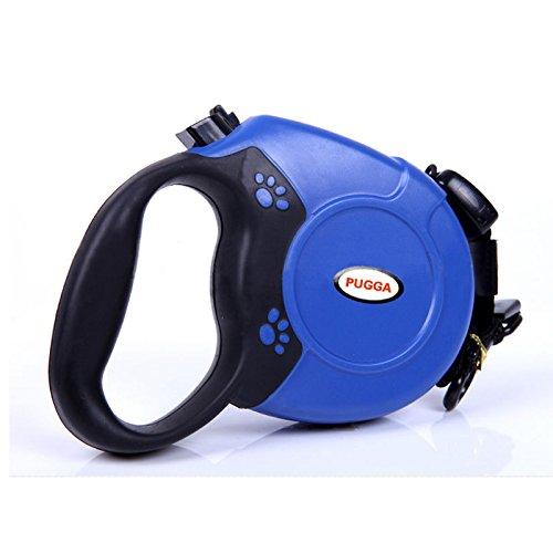 Noza Tec Rollleine 5m–8m, bis 50kg, Blau