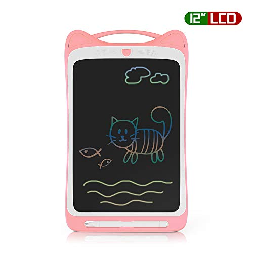 Richgv LCD Writing Tablet12 Pollici Colorato Elettronico Tablet Tavoletta Grafica Digitale Scrittura Ewriter Paperless Disegno Pad con Memoria di