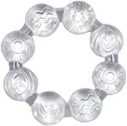 عضاضة تبريد للأطفال من جرين سبروتس - Clear-3mo+، قطعة من 1