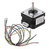 Werst Schrittmotor Nema 17HS2408S 4-Leiter 42 Motor 42BYGH 0,6 A CNC Laser 3D Drucker