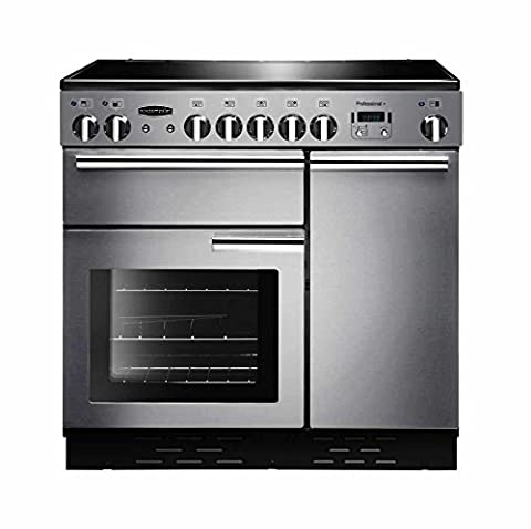 Rangemaster Professional Plus PROP90EISS/C 90cm Electric Range Cooker with Induction