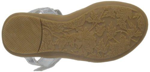 Pumpkin Patch G Flexi First Walker Sandals, Sandales fille Argent - argent