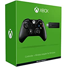 Xbox One Mando Para Pc (Windows) + Wireless Adaptador
