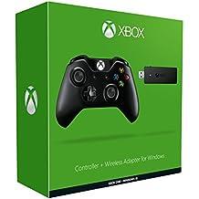 Microsoft Manette Xbox One + Adaptateur sans fil pour Windows 10
