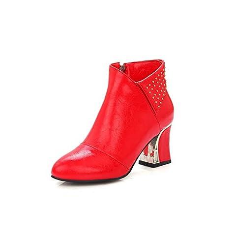 AdeeSu , Damen Sneaker Low-Tops , rot - rot - Größe: 36