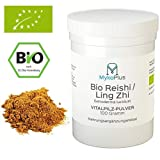 Bio Reishi / Ling Zhi Vitalpilz-Pulver 100 Gramm vegan