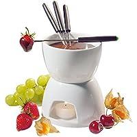 Cilio 104417 - Set para fondue de chocolate en porcelana dura (h.nr.)