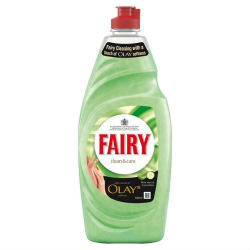 Fairy detersivo pulito e cura aloe vera 625ml di 6