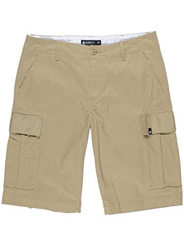 Element Herren Legion Cargo WK Shorts, Desert Khaki, 34 (Element Khaki Shorts)