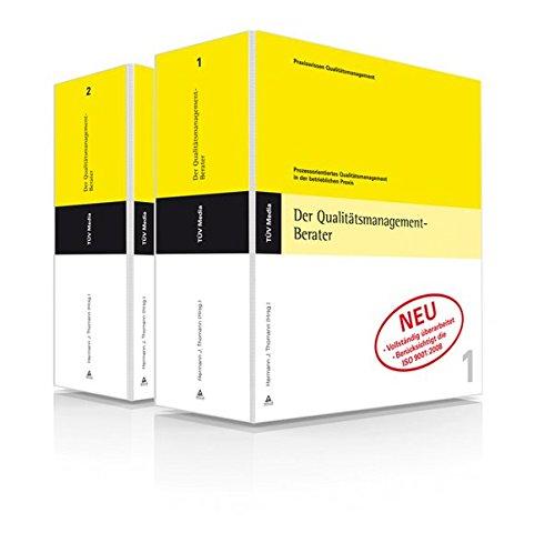Der Qualitätsmanagement-Berater: Prozessorientiertes Qualitätsmanagement in der betrieblichen Praxis, Grundwerk mit 29. Ergänzungslieferung 2015 thumbnail