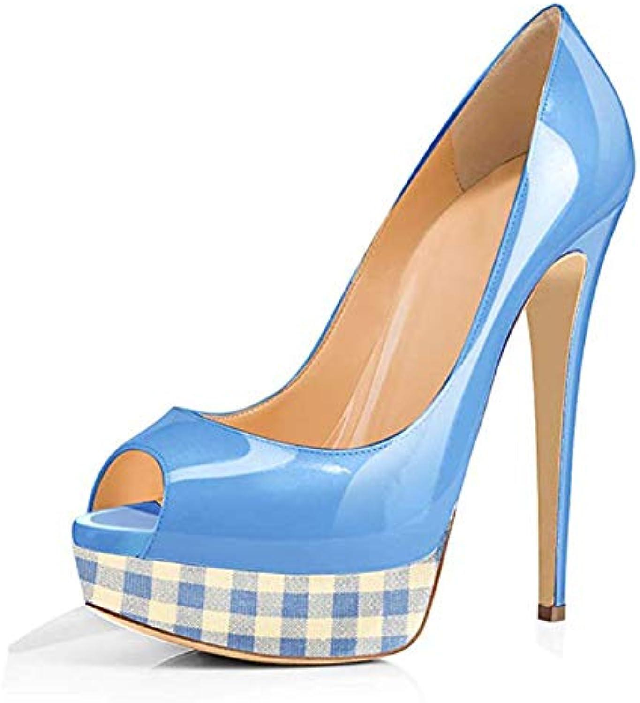 He-yanjing Sandali Stiletto Donna, Moda Sexy di Nuovi Sandali delle Donne di Grandi Dimensioni 35-45 Ladies Scarpe... | Nuove varietà sono introdotte  | Maschio/Ragazze Scarpa