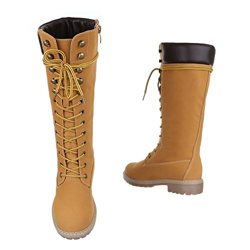 Chaussures, 067, pG-bottes Camel 170-1