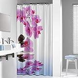 Sealskin Textil Duschvorhang Spa, mit spezieller Fotoprint-Technik, B x H: 180 x 200 cm