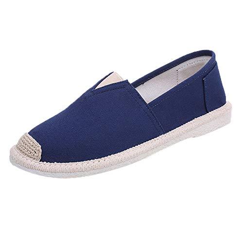 EU36-EU49 ODRD Schuhe Herren Mens Sommer beiläufige Faule Schuhe Atmungsaktive Schuhe Trainer Pumps Schuhe Erbsen Schuhe Combat Hallenschuhe Worker Boots Laufschuhe Sneakers ()