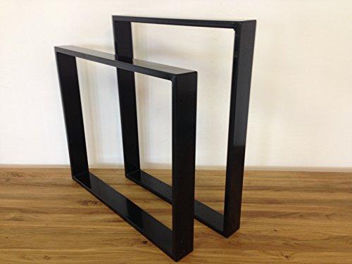 Tischgestell Stahl TR80s 600mm breit Tischuntergestell Tischkufe Kufengestell