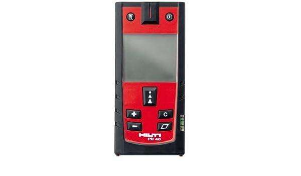 Hilti pd 40 laser entfernungsmessgerät: amazon.de: baumarkt